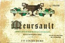 Domaine Coche-Dury Meursault 2005 Cote de Beaune