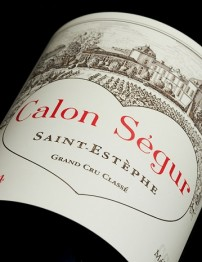 Chateau Calon Segur 1996 St Estephe