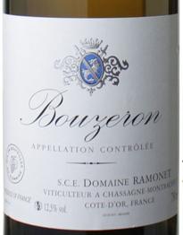 Domaine Ramonet, Bouzeron 2014 Cote Chalonnaise