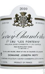 Domaine Joseph Roty Gevrey Chambertin 1er Cru Les Fontenys 2014 Cote de Nuits