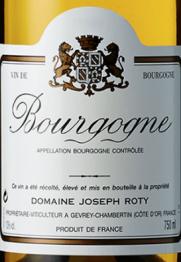 Domaine Joseph Roty Bourgogne Blanc 2014 Bourgogne