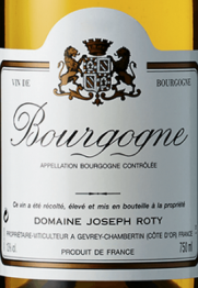 Domaine Joseph Roty Bourgogne Blanc 2015 Bourgogne
